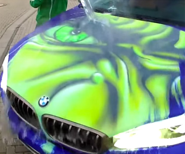 Hot Water Makes Bimmer Hulk Out