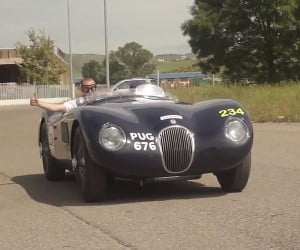 Tackling the 2015 Mille Miglia in a Jaguar C-Type