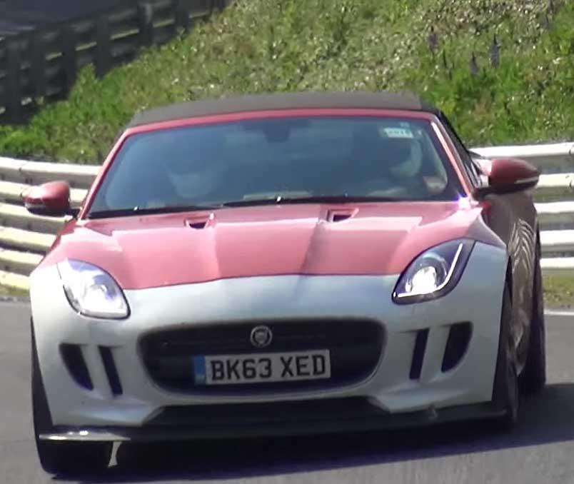 Jaguar F-Type Prototypes Take on the Ring