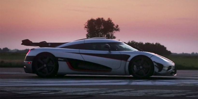Koenigsegg One:1 Takes on Agera R's Speed Record