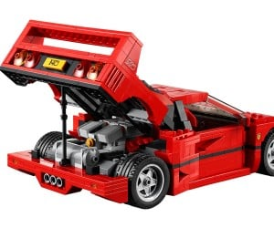 LEGO Produces Incredibly Detailed Ferrari F40 Model