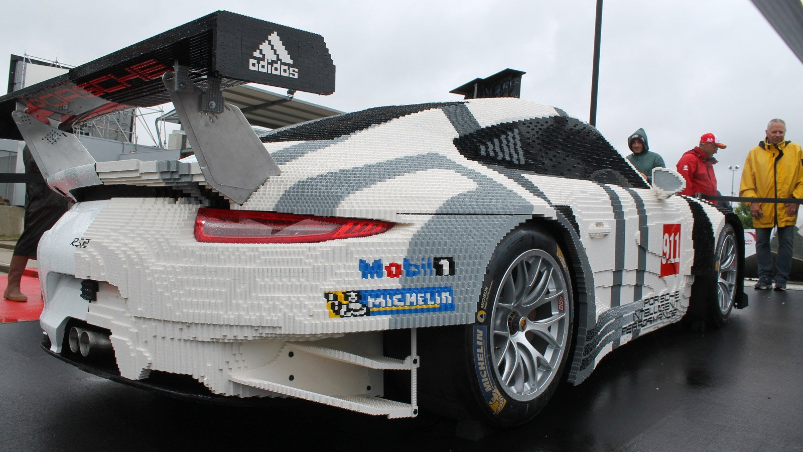 This Life-Size Porsche is 50% LEGO
