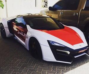 Abu Dhabi Police Get Lykan HyperSport Patrol Car