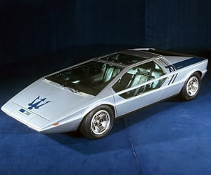 Maserati Boomerang Concept Car to Be Sold at Auction