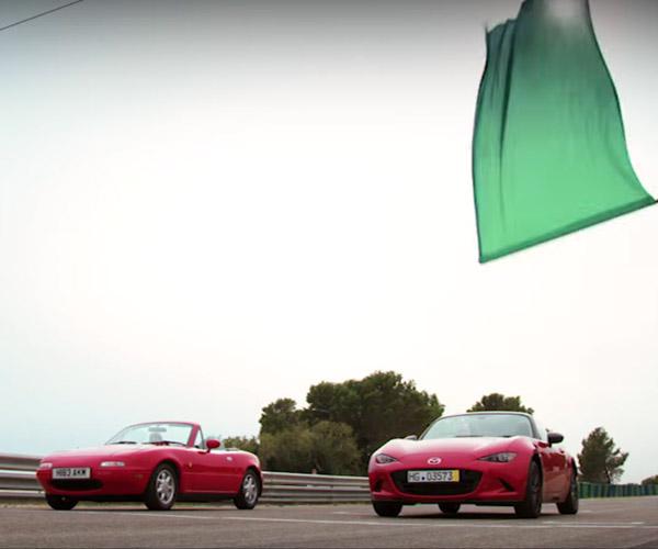 Mazda Pits 1990 Miata Against 2016 MX-5