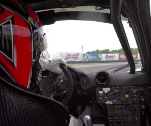 McLaren F1 GTR In-car and On-car Video