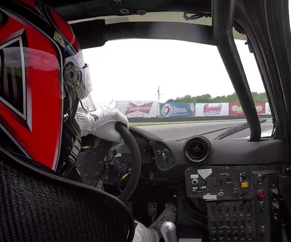McLaren F1 GTR In-car and On-car Video