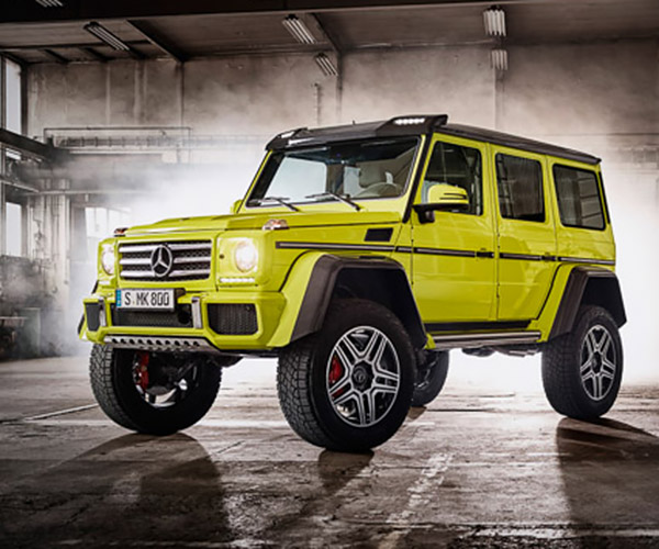 Mercedes-Benz G500 4×4² Confirmed for Production