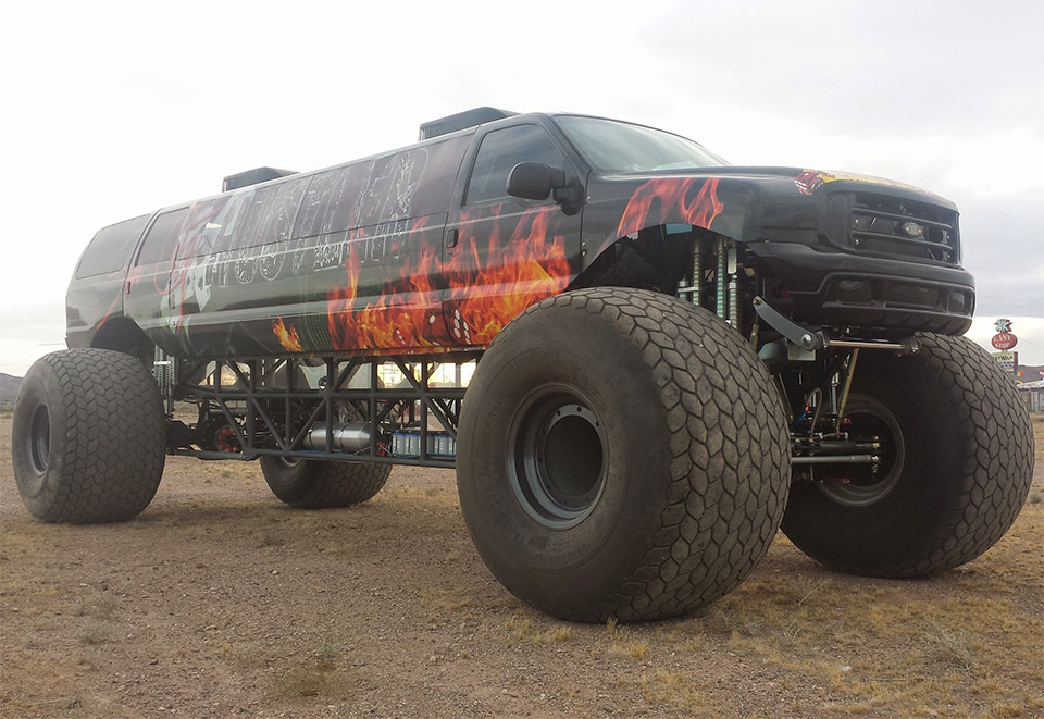 A Monster Truck for the Upper Crust