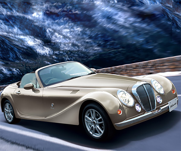 Mitsuoka Roadster: Miata with a Monocle