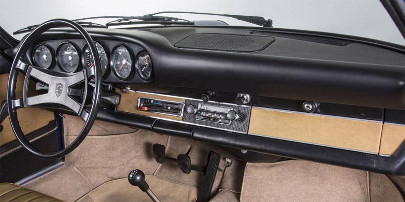 Porsche Classic Making Vintage 911 Dashboards