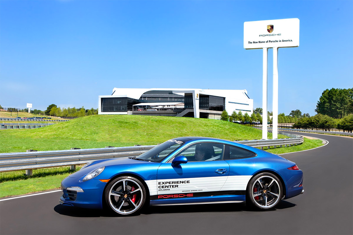 Drive a Porsche at Atlanta's Porsche Experience Center