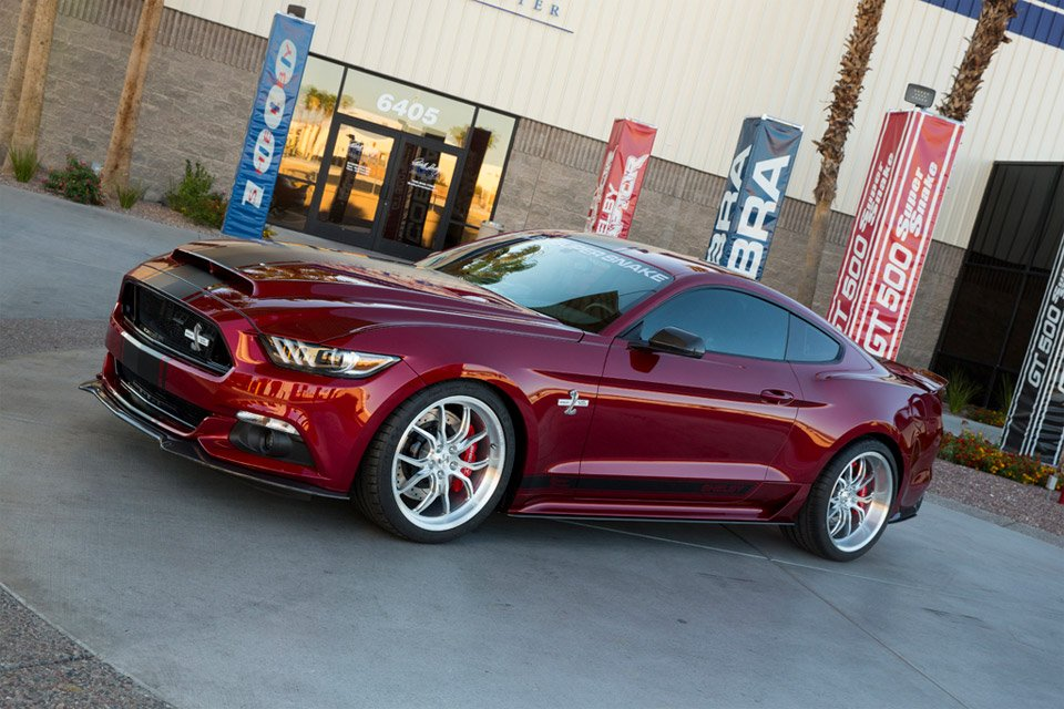 Shelby Unveils 2015 Super Snake with over 750hp