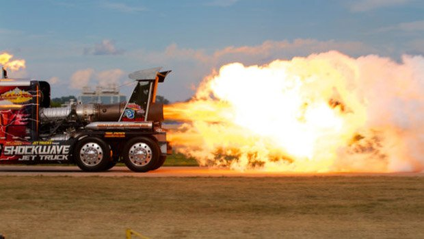 Jet Truck Test Firing Causes Emergency False Alarm