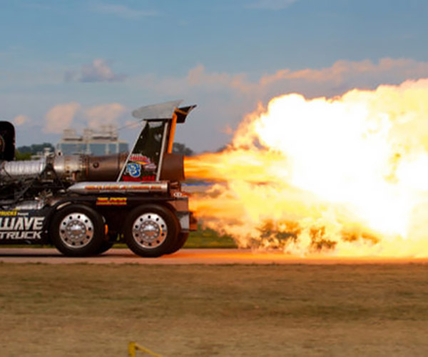 Jet Truck Test Firing Causes Emergency False Alarm