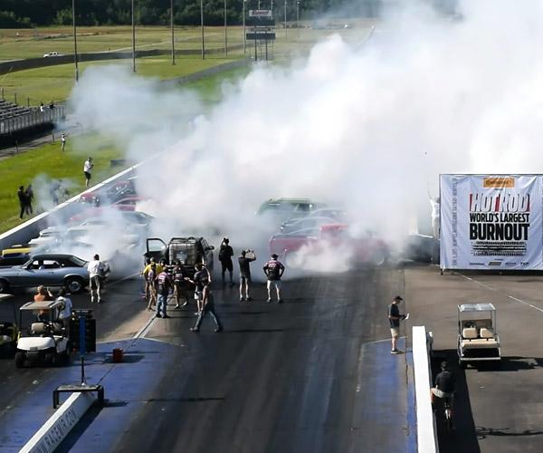 U.S. Tries to Recapture World Burnout Record