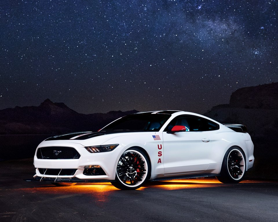 Apollo Inspired 2015 Ford Mustang Heads to Auction