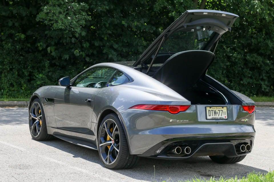 Review 2016 jaguar f type r coupe 95 octane - Jaguar f type r coupe interior ...