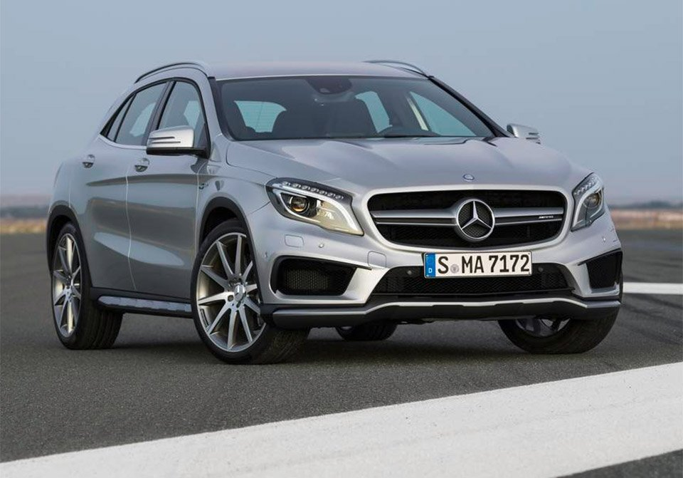 2016 mercedes cla and gla amg get power bump 95 octane. Black Bedroom Furniture Sets. Home Design Ideas