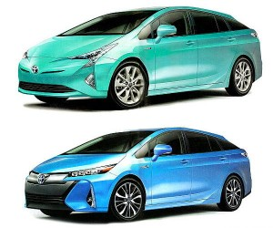 Could This Be the 2016 Toyota Prius?