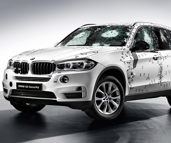 F15 BMW X5 Security Plus is a Bulletproof SUV