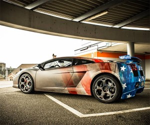 Lambo Gets a Tricky Captain America Treatment