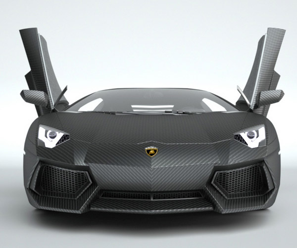 Carbon Fiber Replacement Bodies for Supercars
