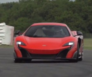 Chris Harris Hoons the McLaren 675LT around Silverstone