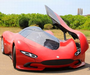 Chinese Man Creates Beautiful Sports Car for Less than $5000
