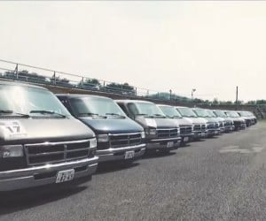 Japan Has an All RAM Van Racing Series