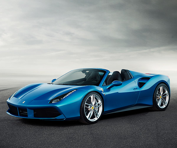 Ferrari 488 Spider: 203 mph of Top-Down Fun