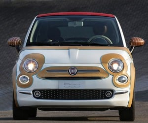 This Custom FIAT 500c Is a Leather Covered Atrocity