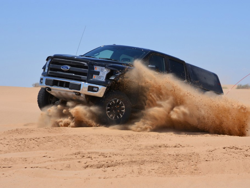 2017 Ford F-150 Raptor Completes Initial Desert Testing