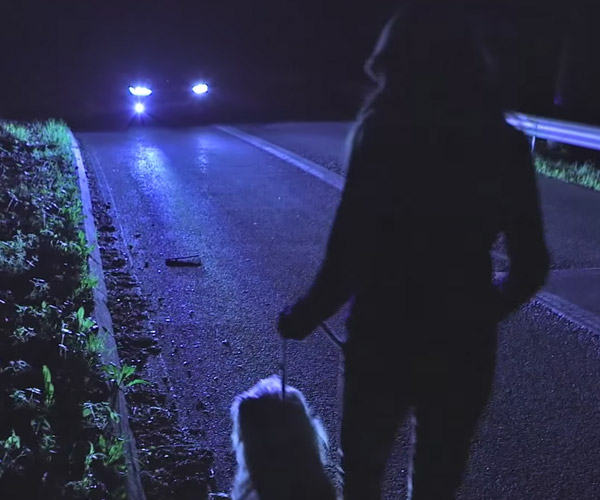 Ford Headlight Tech Uses Infrared to Identify Living Things
