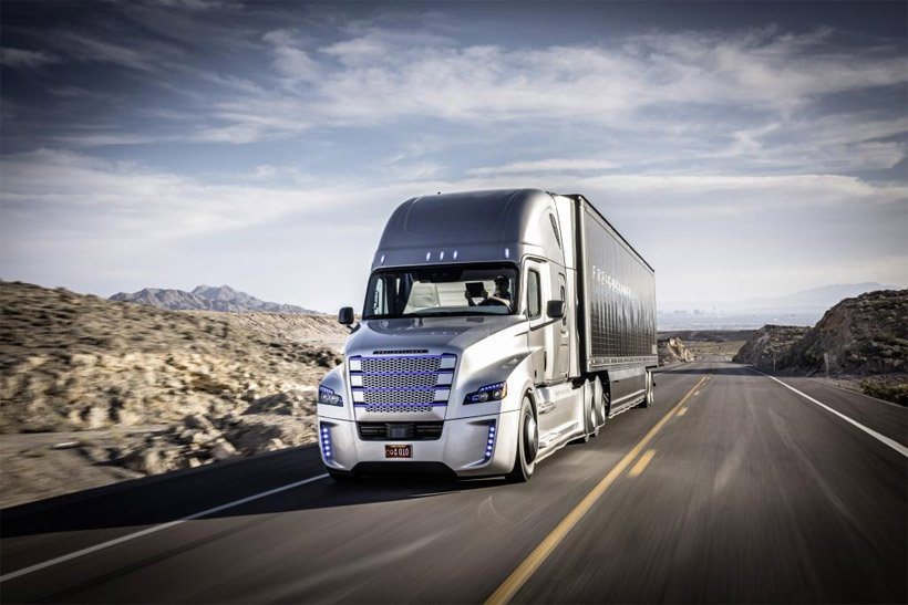 Daimler Close to Testing Autonomous Big Rigs