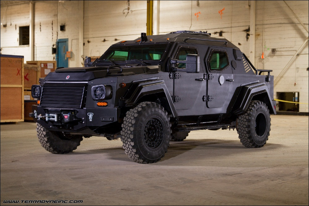 Gurkha Rpv Civilian Edition Is Street Legal And Wide As A