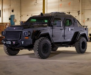 Gurkha RPV Civilian Edition is Street Legal and Wide as a Lane
