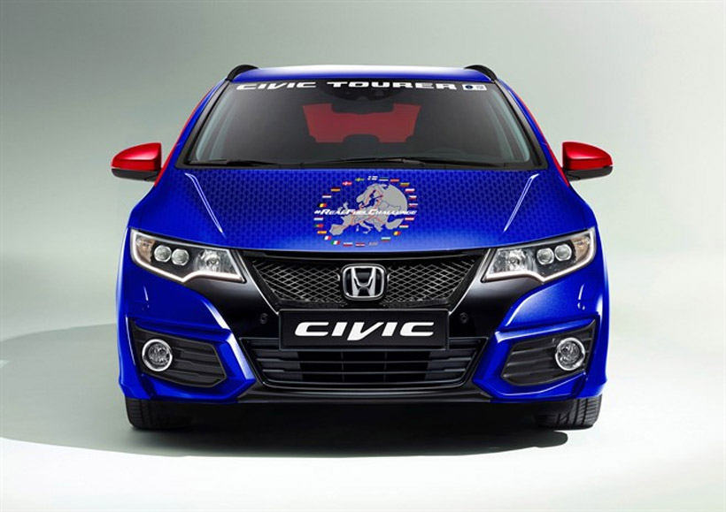 Stock Honda Civic Sets EU Fuel Economy Record