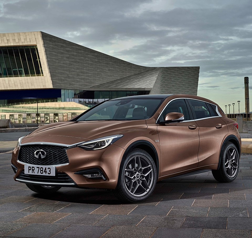 Infiniti Q30 Breaks Cover Early