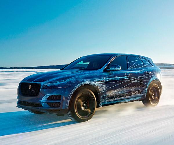 Jaguar Puts F-Pace Through Its Paces