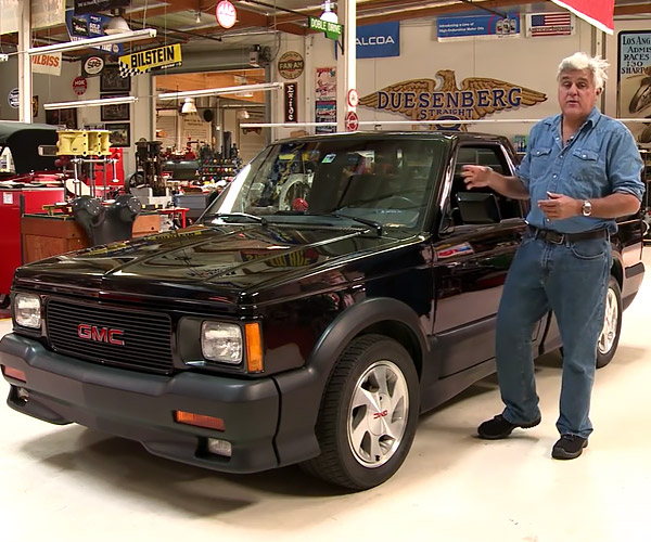 Jay Leno Shows off His 1991 GMC Syclone