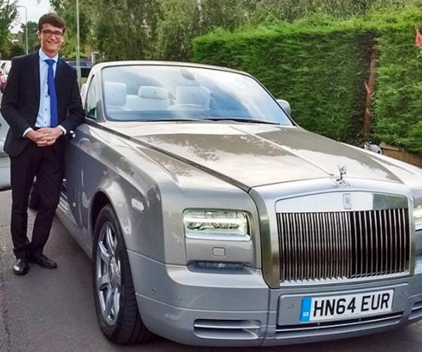 Kid Scores Big with Rolls-Royce Ghost for Prom