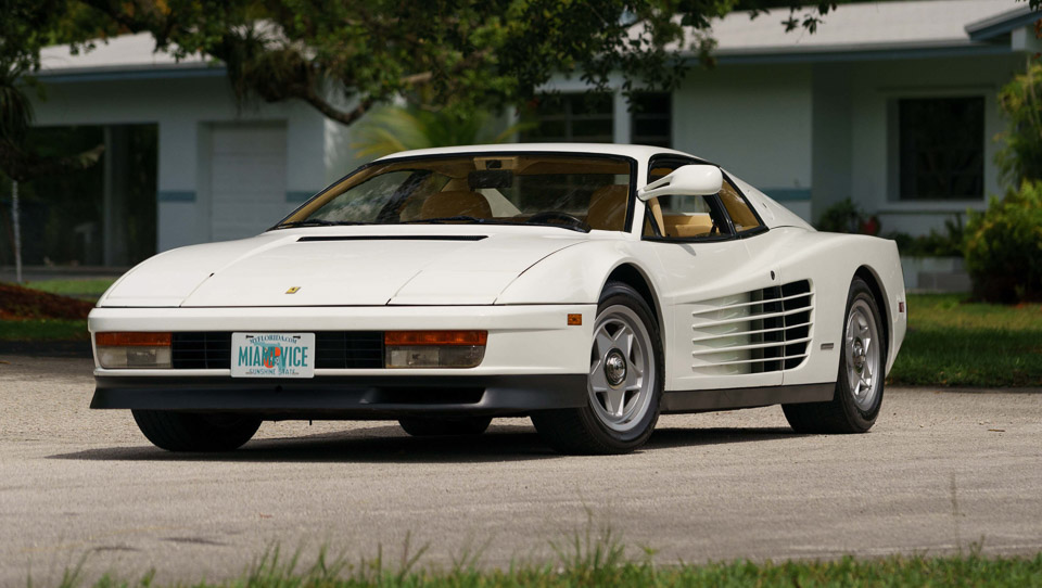 Miami Vice Ferrari Testarossa up for Auction