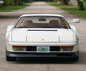 Miami Vice Ferrari Testarossa up for Auction