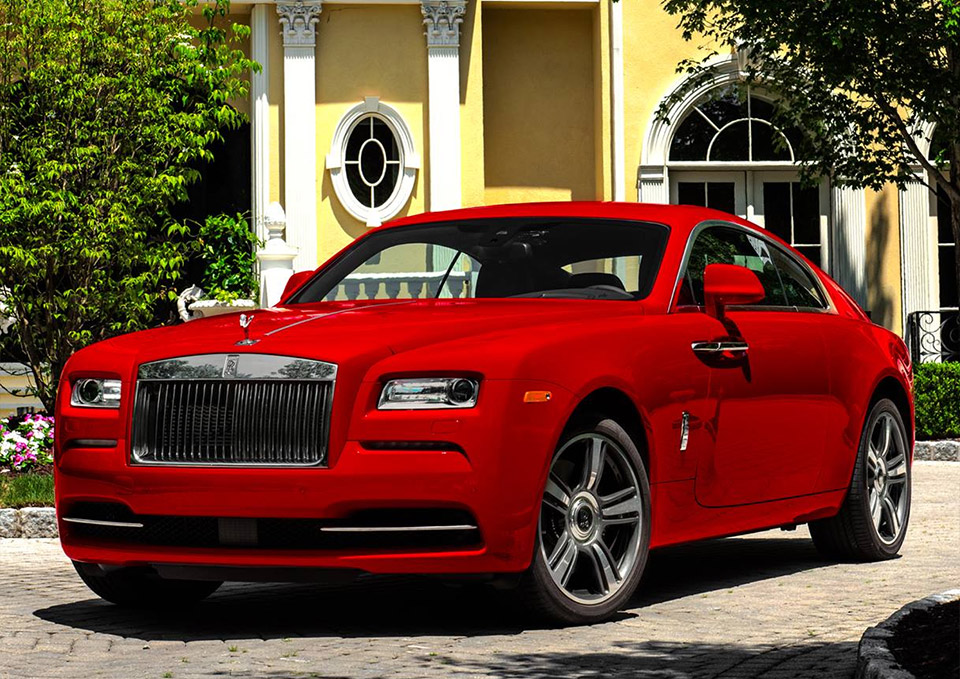 Rolls-Royce Wraith St. James Edition: Colorful & Powerful
