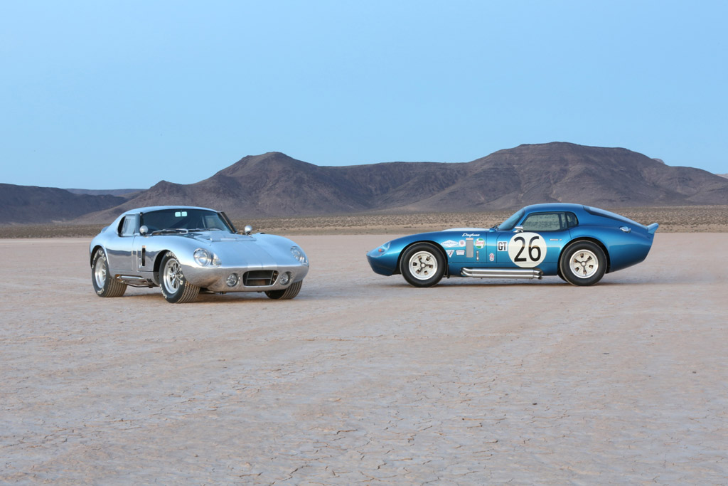 Shelby American Building Brand New Daytona Coupes