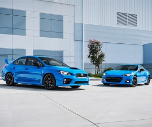 Subaru Series.HyperBlue BRZ and WRX STI