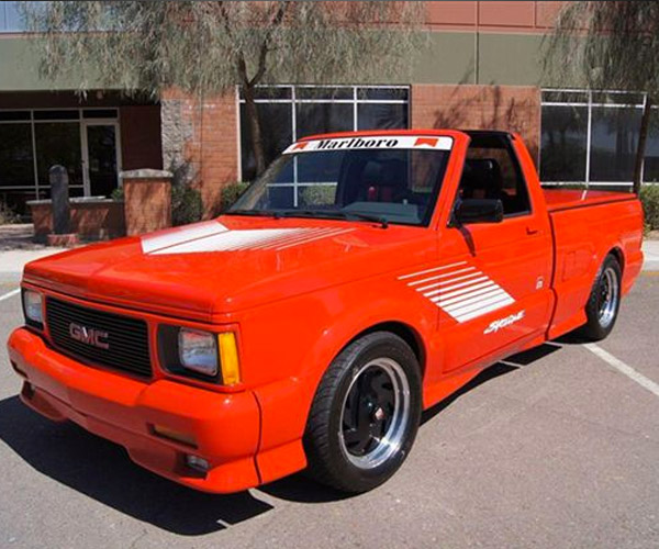 Targa Topped Red Marlboro GMC Syclone for Sale