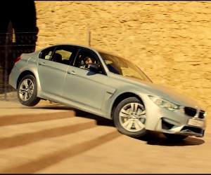 Tom Cruise Rips up a BMW M3 for Mission Impossible