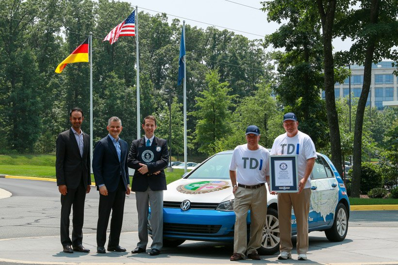 VW Golf TDI Grabs Record for US Fuel Economy